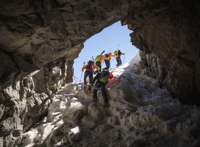 sopralluogo percorso adamello ski raid
