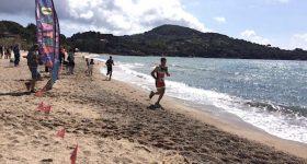 elba triathlon tour spiaggia corsa