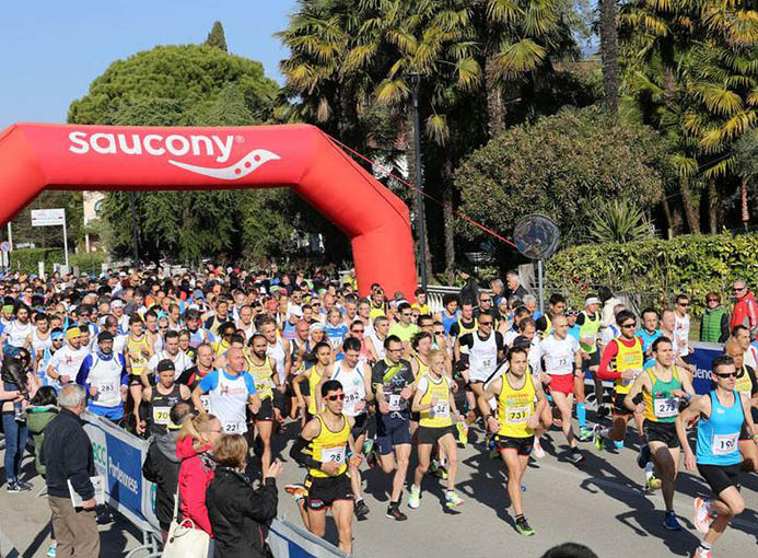 maratonina brugnera partenza