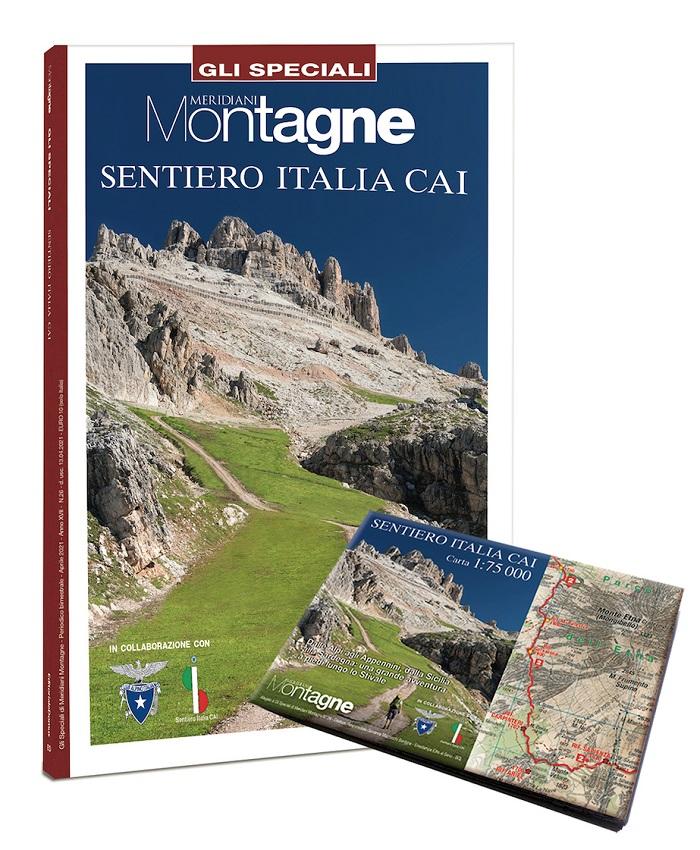 Meridiani Montagne Sentiero Italia Cai copertina