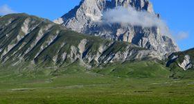 Sentiero italia cai Abruzzo GRAN SASSO da CAMPO IMPERATORE