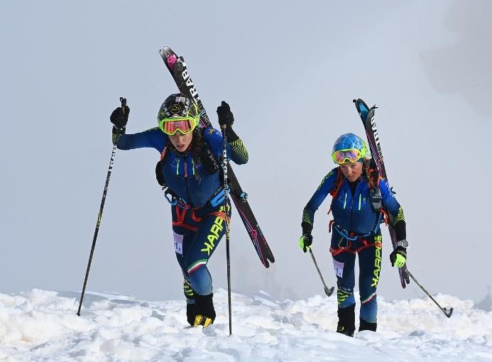 Adamello Ski Raid Giulia Murada Giulia Compagnoni