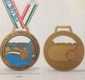 paratico tricolore medaglia finisher