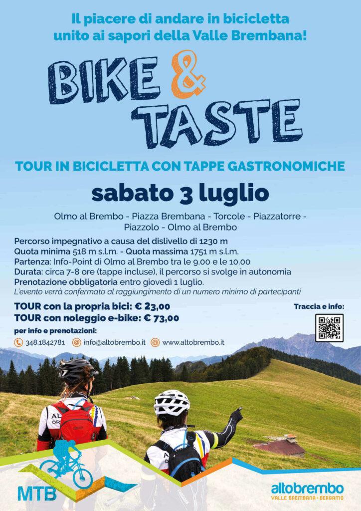 Valle Brembana mountain bike volantino