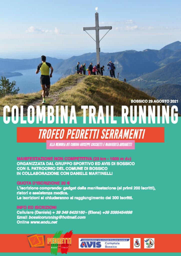 colombina trail running 2021 volantino