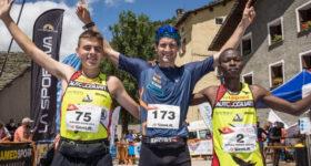 podio maschile Pizzo Stella Skymarathon