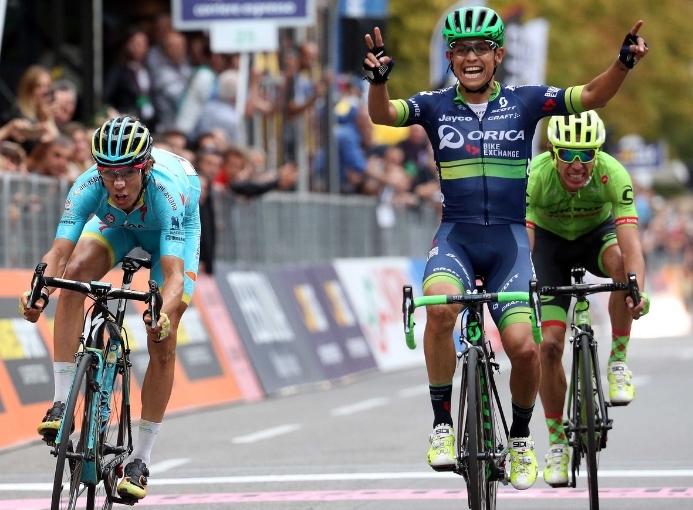 Esteban Chaves Giro di Lombardia