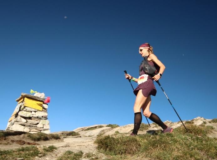 Ultramarathon du Fallère Sonia Locatelli