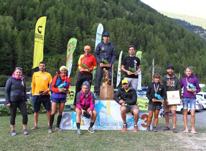 Ultramarathon du Fallère 2021 premiazioni