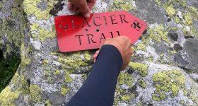 glacier trail percorso