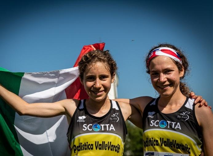 Erica e Francesca Ghelfi Podistica Valle Varaita