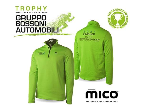 bossoni half marathon trophy 2021