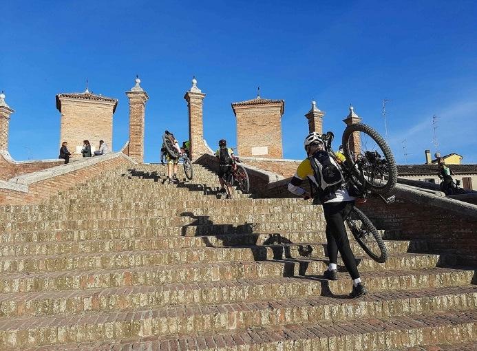 itinerario cicloturismo Sulle tracce degli Etruschi Comacchio