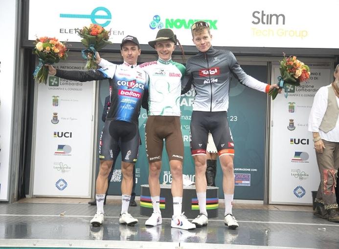 Piccolo Giro Lombardia podio 2021