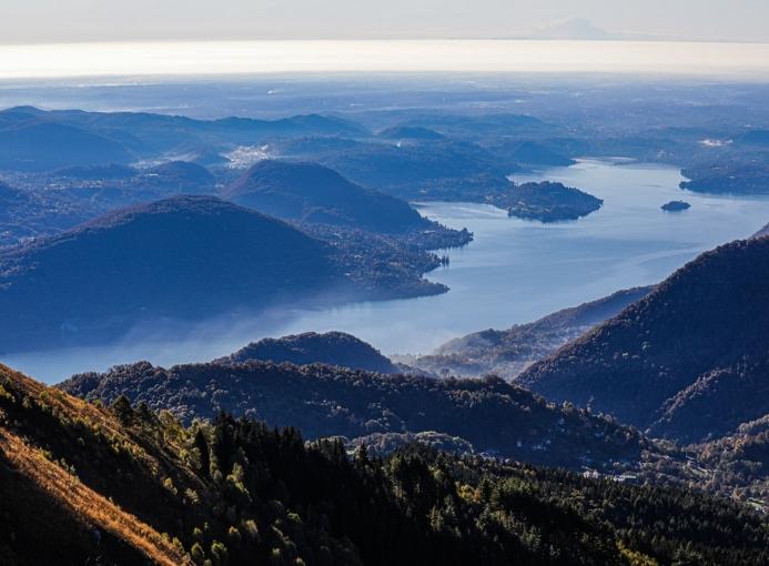 utlo ultra trail lago d'orta paesaggio